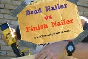 Brad Nailer Vs. Finish Nailer