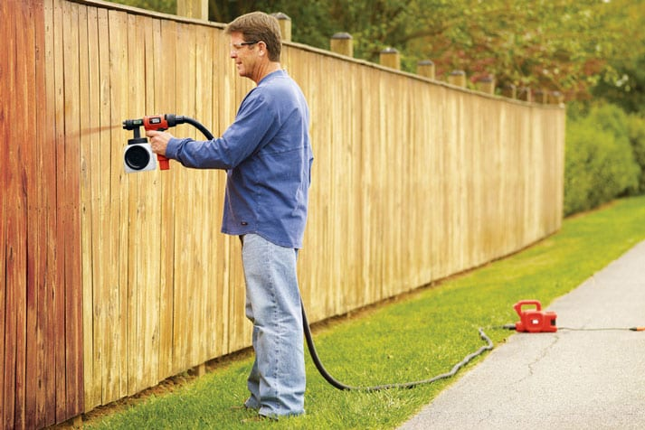 Paint Sprayers For Fence Staining